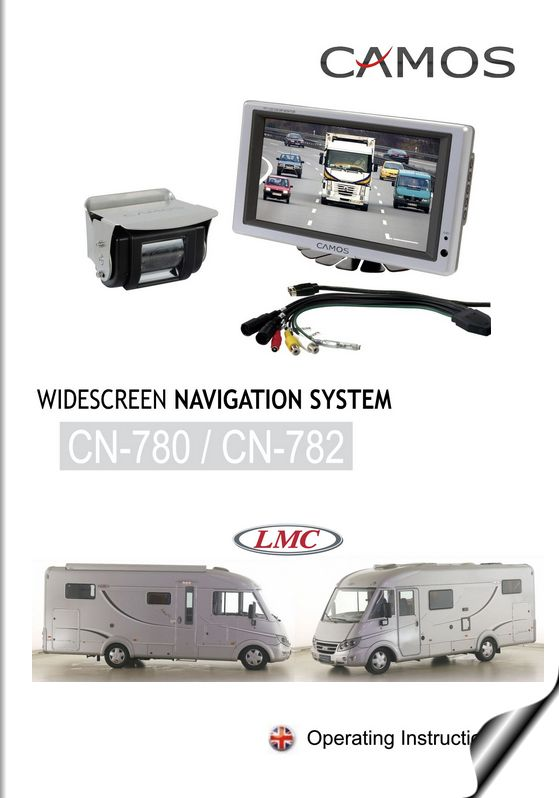 Camos Widescreen navigation system