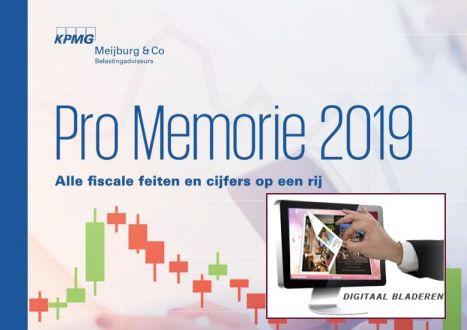 Pro memorie 2019