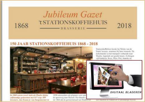 Jubileum Gazet 't Stationskoffiehuis
