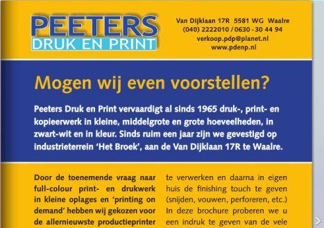 Peeters Druk en Print